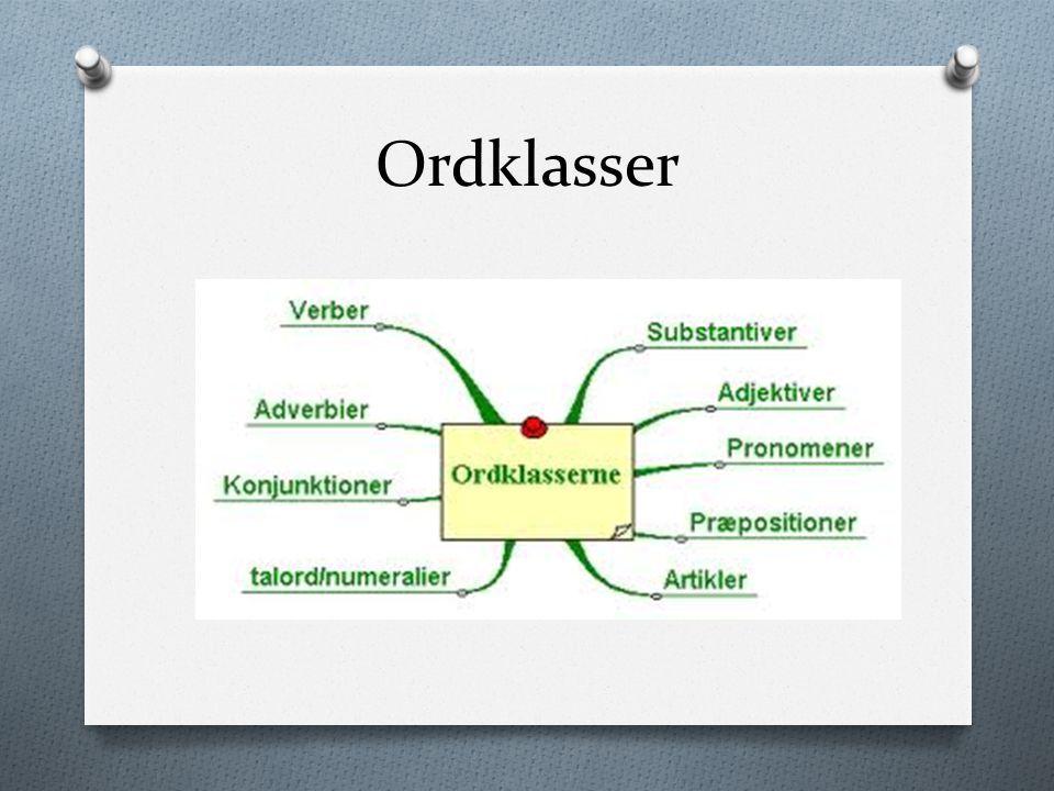 Ordklasser Ppt Video Online Download Ordfamilier Undervisning Adjektiver