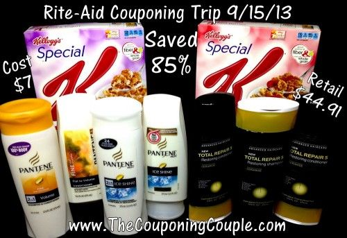 Awesome deals on Shampoo in our Rite-Aid Shopping Trip on 9-15.  Saved 85% this trip!
