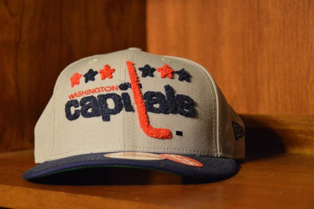 bc590bb45ea New Era 9FIFTY Washington Capitals Retro Emblem Snapback Hat  fashion   clothing  shoes  accessories  mensaccessories  hats (ebay link)