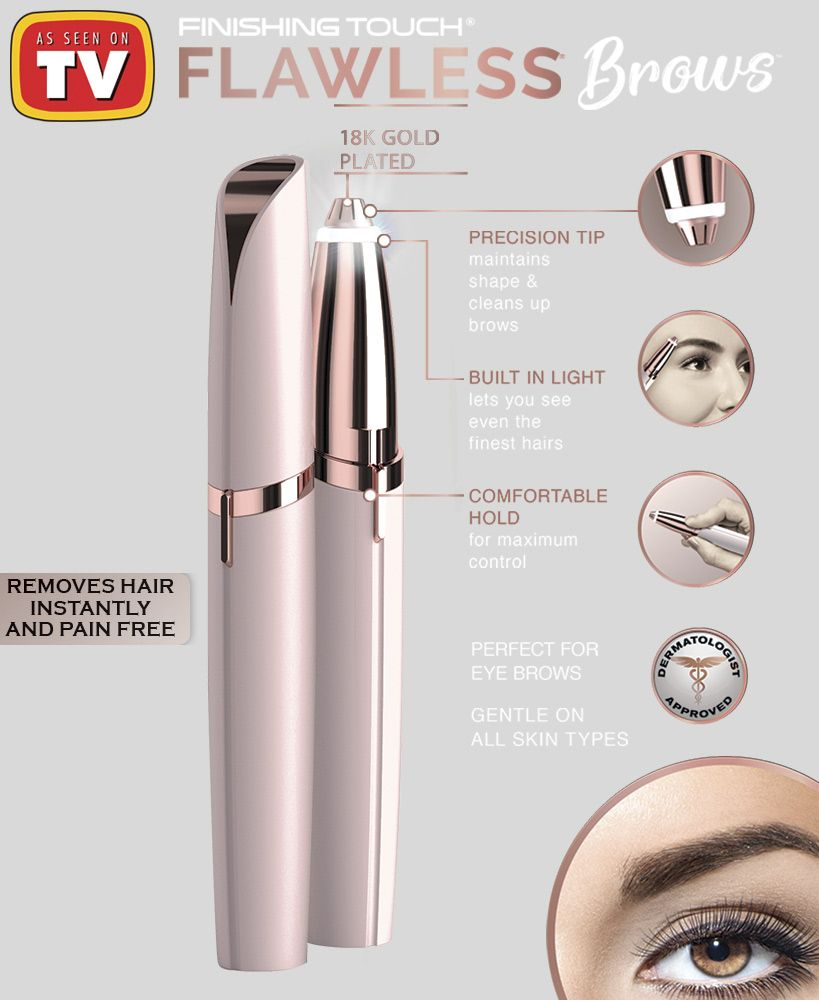 Finishing Touch® Flawless™ Brows™   As Seen On TV   The ...