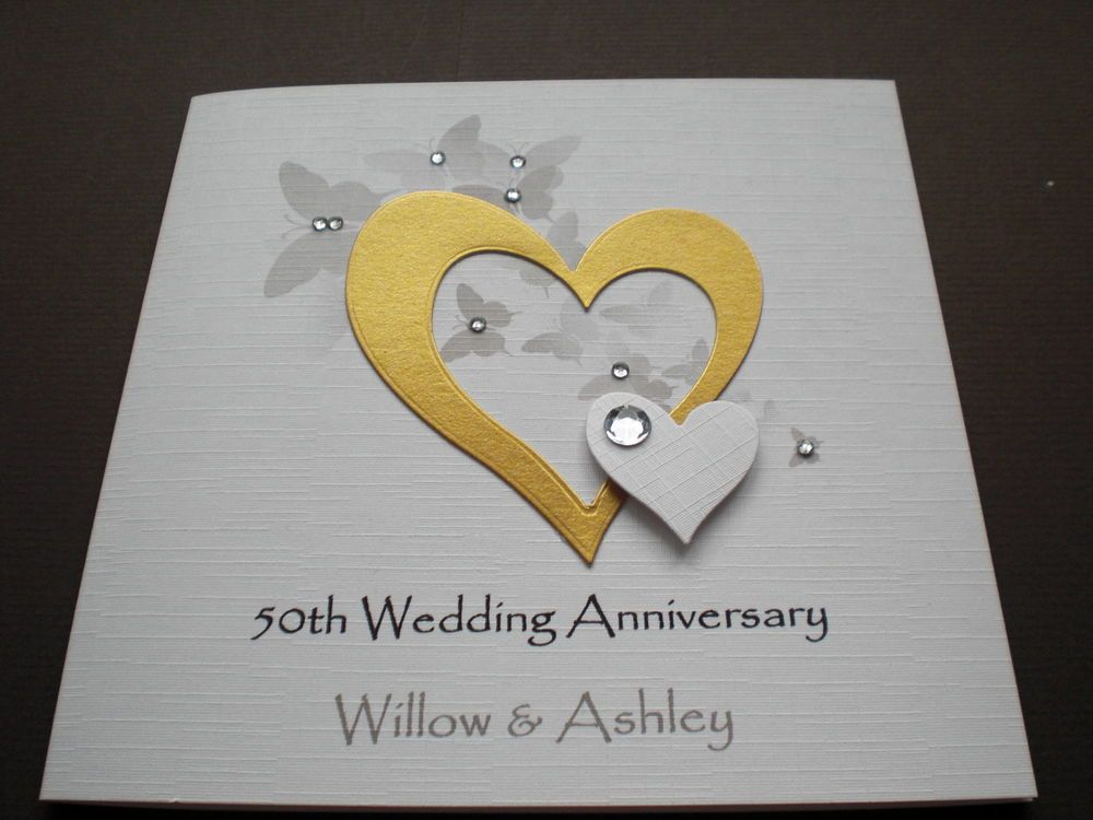 Wedding cards homemade anniversary l g templates