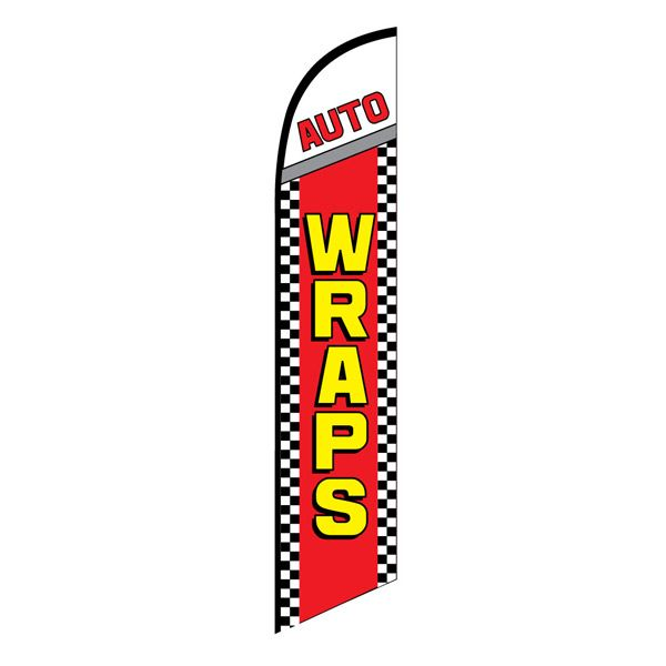 Auto Wraps Service Swooper Banner Sign Flag Click Image To Close Feather Flags Banner Advertising Car Wrap