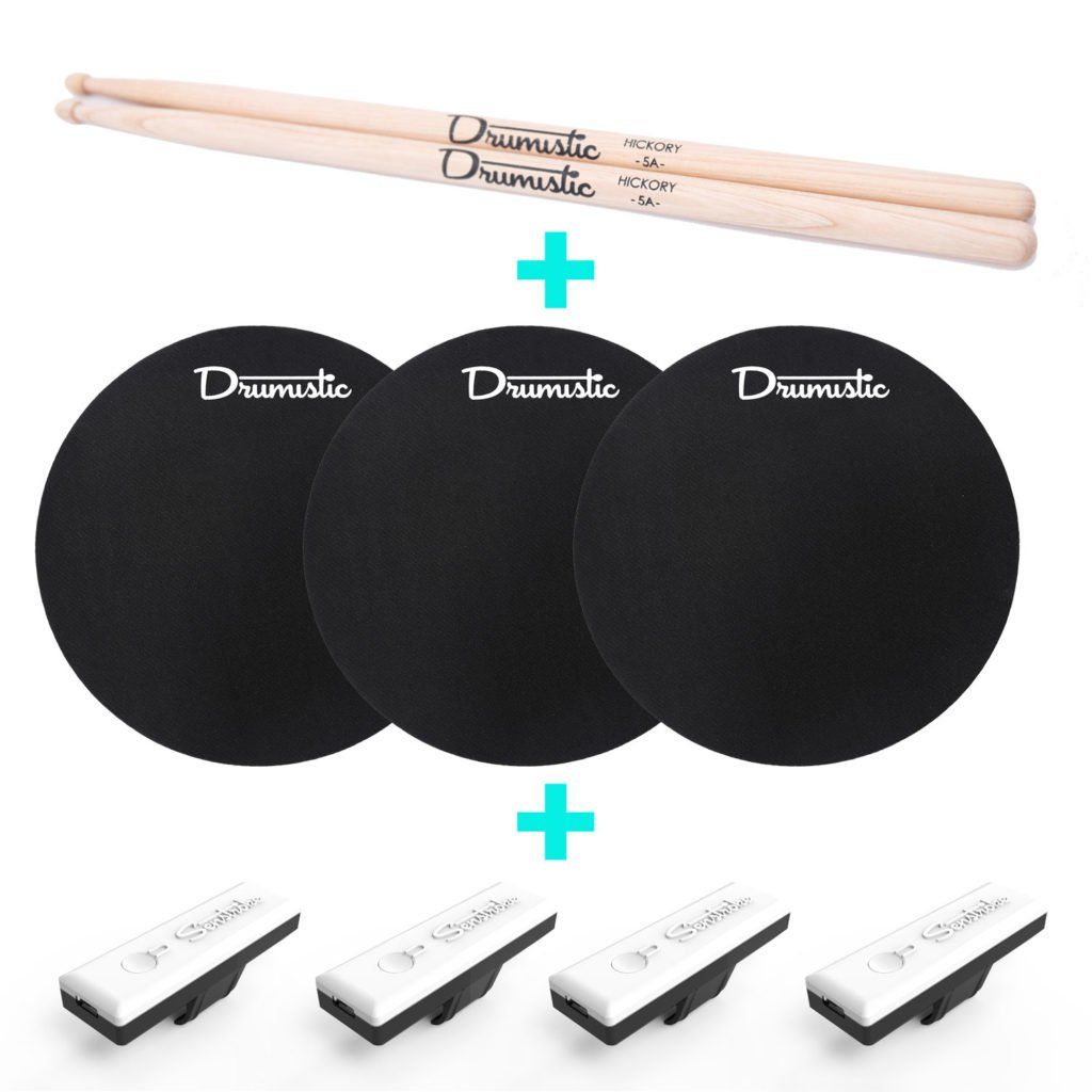 Fancy Senstroke Connected Drum Kit Senstroke Is The First Connected Solution That Will Allow You To Play Drums Record And Improve Your Drumming In Any Place Met Afbeeldingen