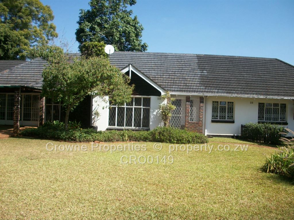 University close mount pleasant harare north to rent houses