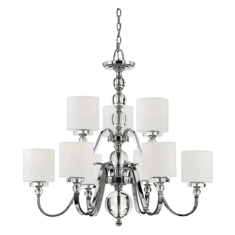 Quoizel Downtown Chandelier Festoon Your Foyer Or Dining Room With The Urban Chic Er Of This Light Fixture Features
