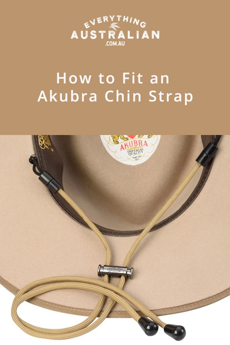 Akubra chinstrap this new accessory from akubra is a