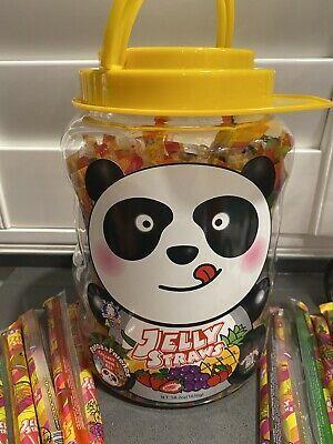 Advertisement Tik Tok Challenge Jelly Strip Fruit Filled