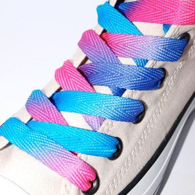 Shoe laces, Pink, Purple color
