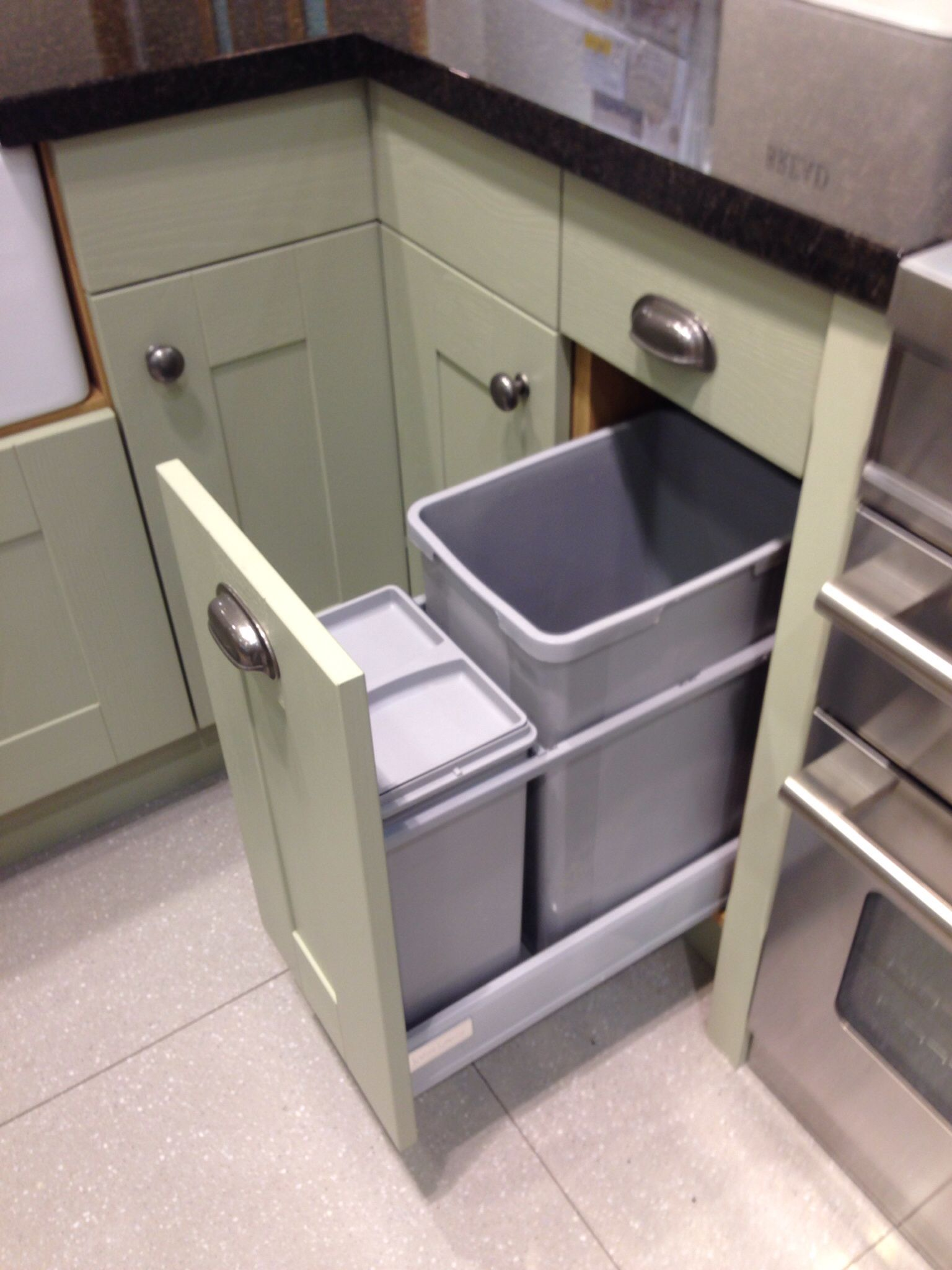 John Lewis   Trash can, Tall trash can, Kitchen