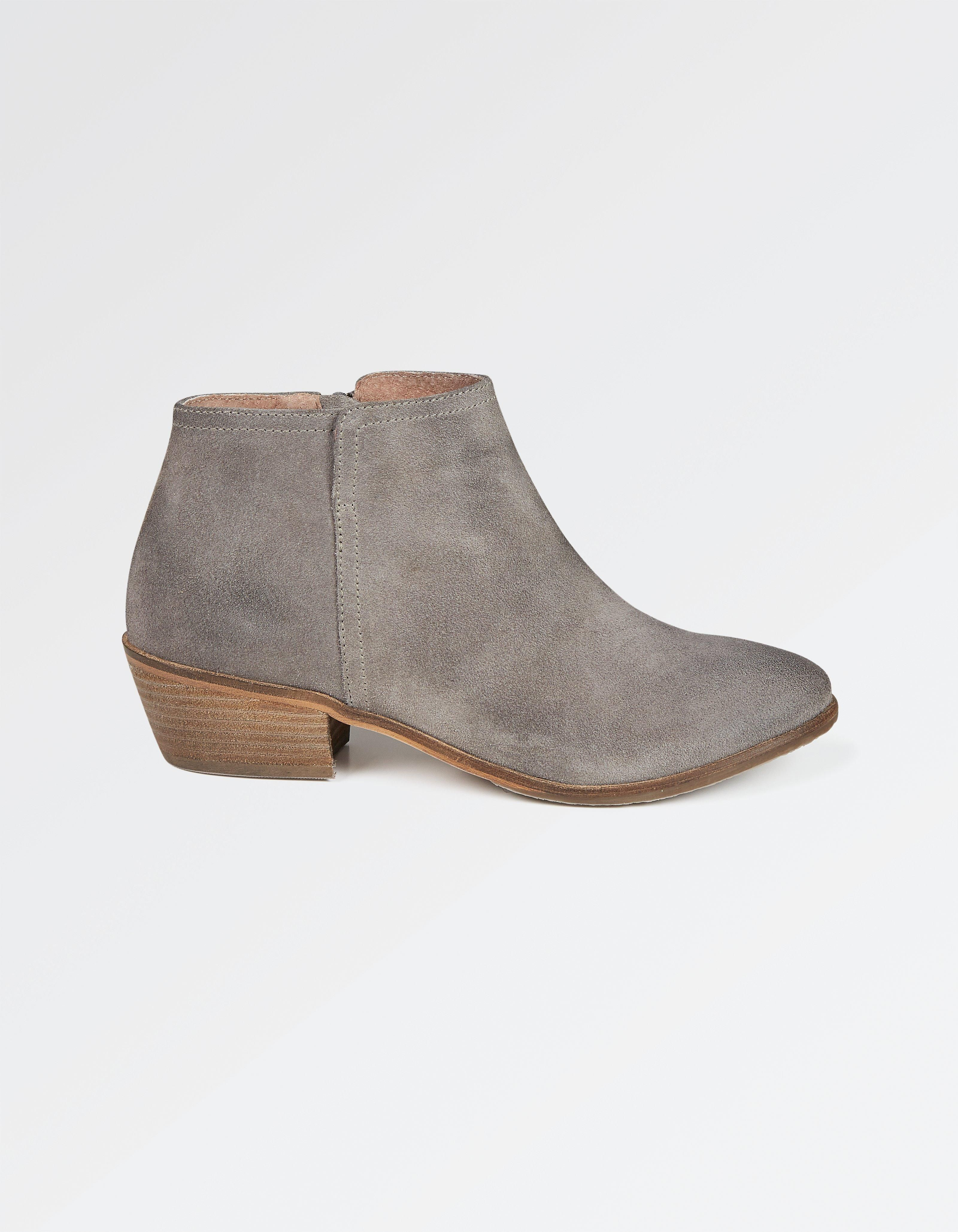 bb2dbc3488726 Buy Grey Lytham Suede Ankle Boots today from FatFace. FREE UK Delivery on  all orders over £60.