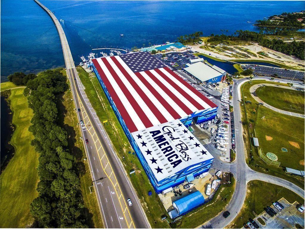 Wordpress Com Destin Large American Flag American Flag
