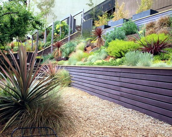 Garden Design On A Slope 79 ideas to build a retaining wall in the garden - slope
