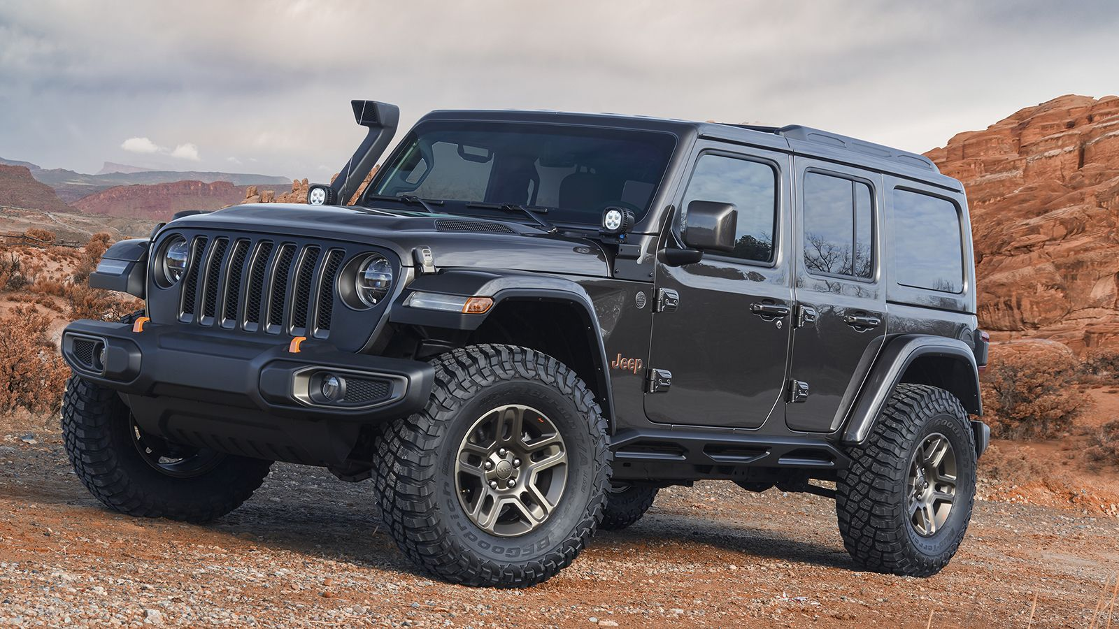 Jeep Reveals 7 Custom Off Roaders For The Moab Easter Jeep Safari Easter Jeep Safari Jeep Concept Custom Jeep