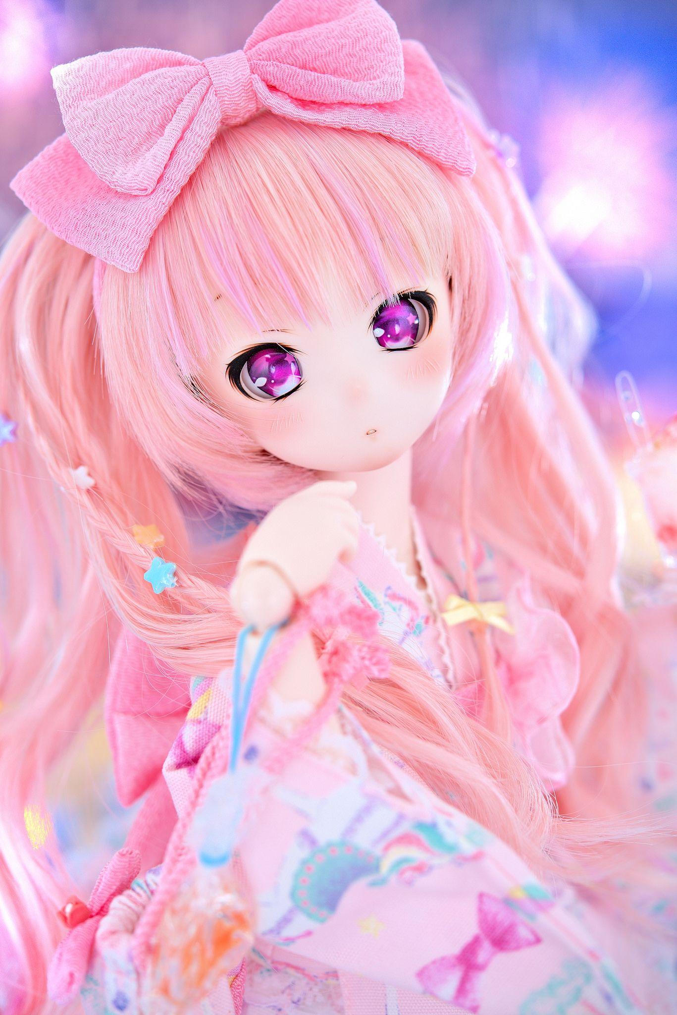 Ddh10headmomoka004 anime dolls beautiful dolls