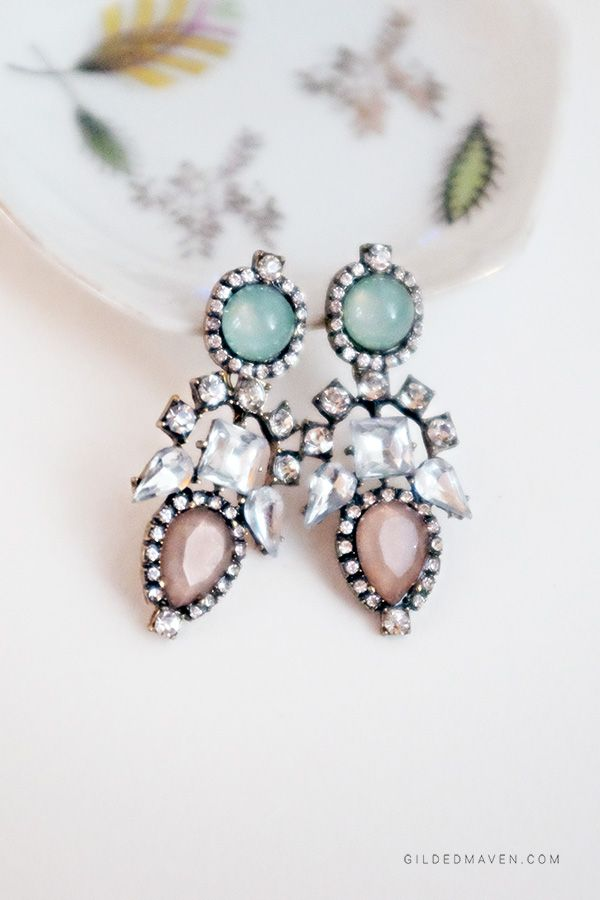 Alexandra Earrings - these are amazing! Would look GORGEOUS on bridesmaids!