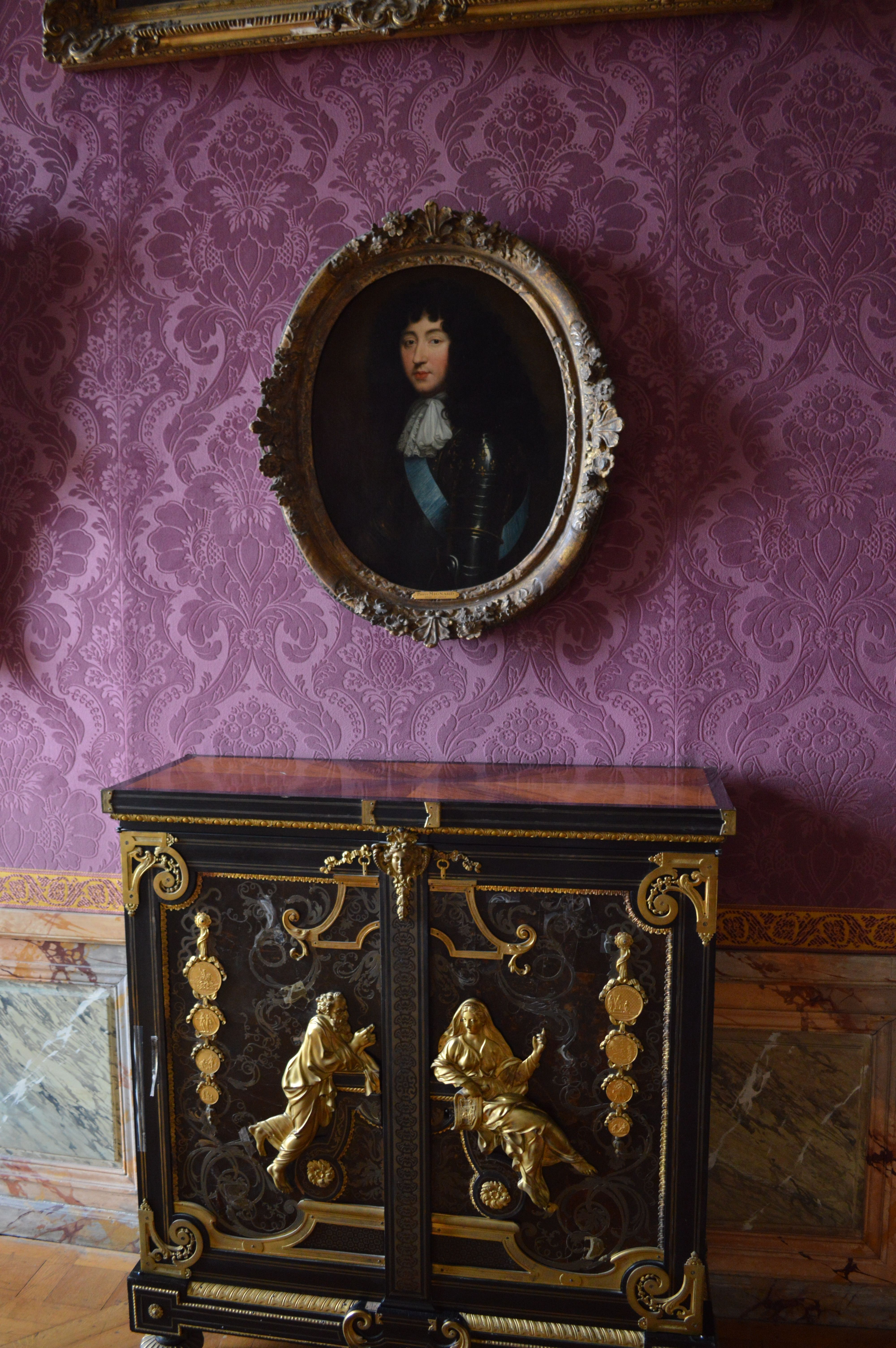 Louis The 14th Furniture Furniture In The Palace Of Versailles During The Reign Of