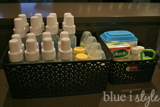 organizing with style} How to Organize Baby Bottles   Baby Hunt ...