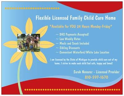My Daycare Flyer | Pins I Made | Pinterest | Daycare ideas and ...