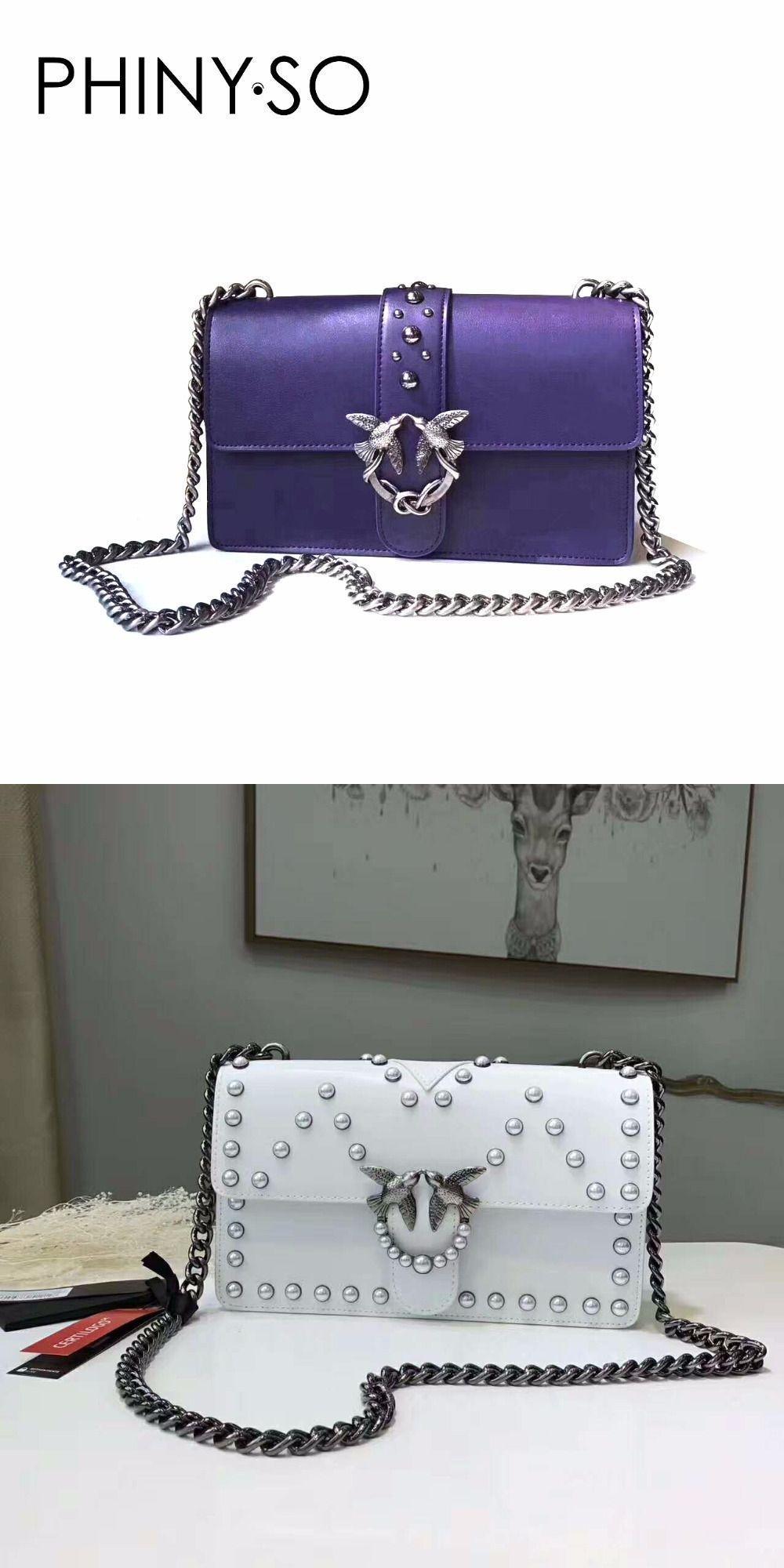 f305fe9fb3d2 Fashion designer Flap Lady brand bag women shoulder bags Chains Rivet  Swallow lock Messenger Bags Cow