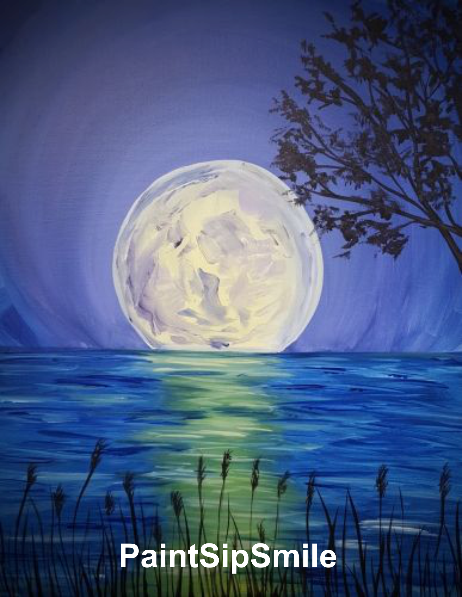Картинки, красивые картинки с луной для срисовки