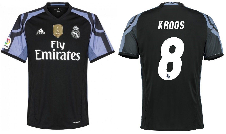 Trikot Herren Real Madrid 2016-2017 Third WC - Kroos 8: Amazon.de ...