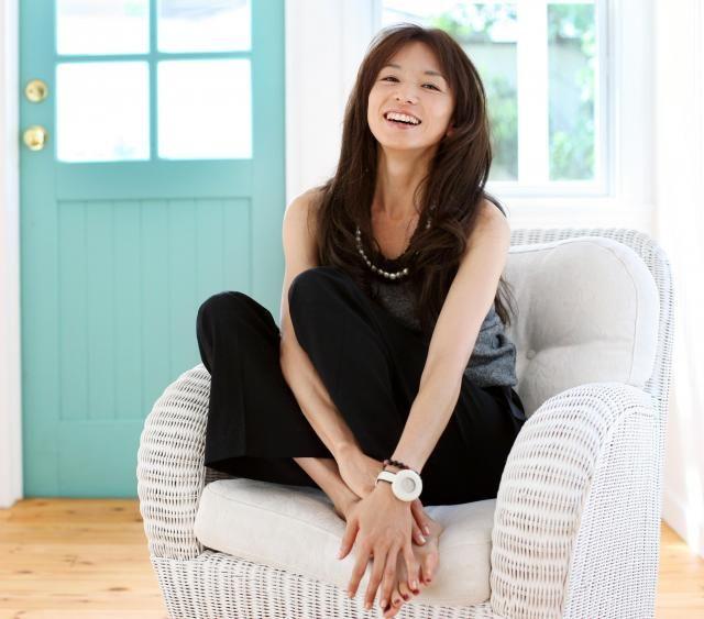 インタビューの山口智子