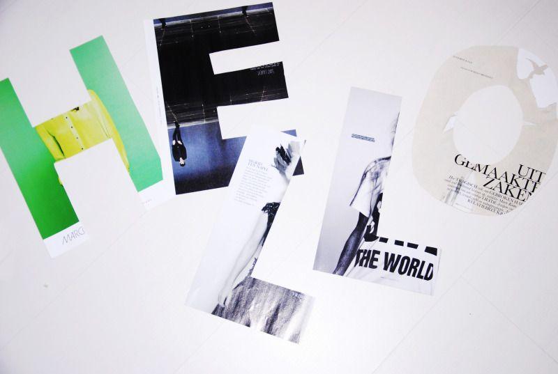 I'm fashionstoned: diy wall letters