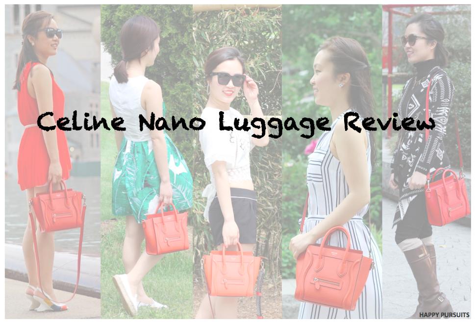 8b6029bbf7 Celine Nano Luggage Review