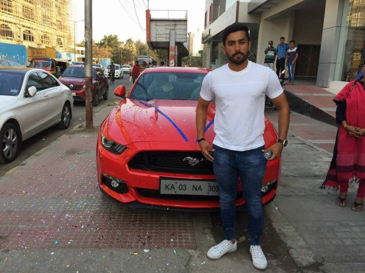 Cars With Criket Stars; 25 Year Old Karun Nair Recently Got Himself A