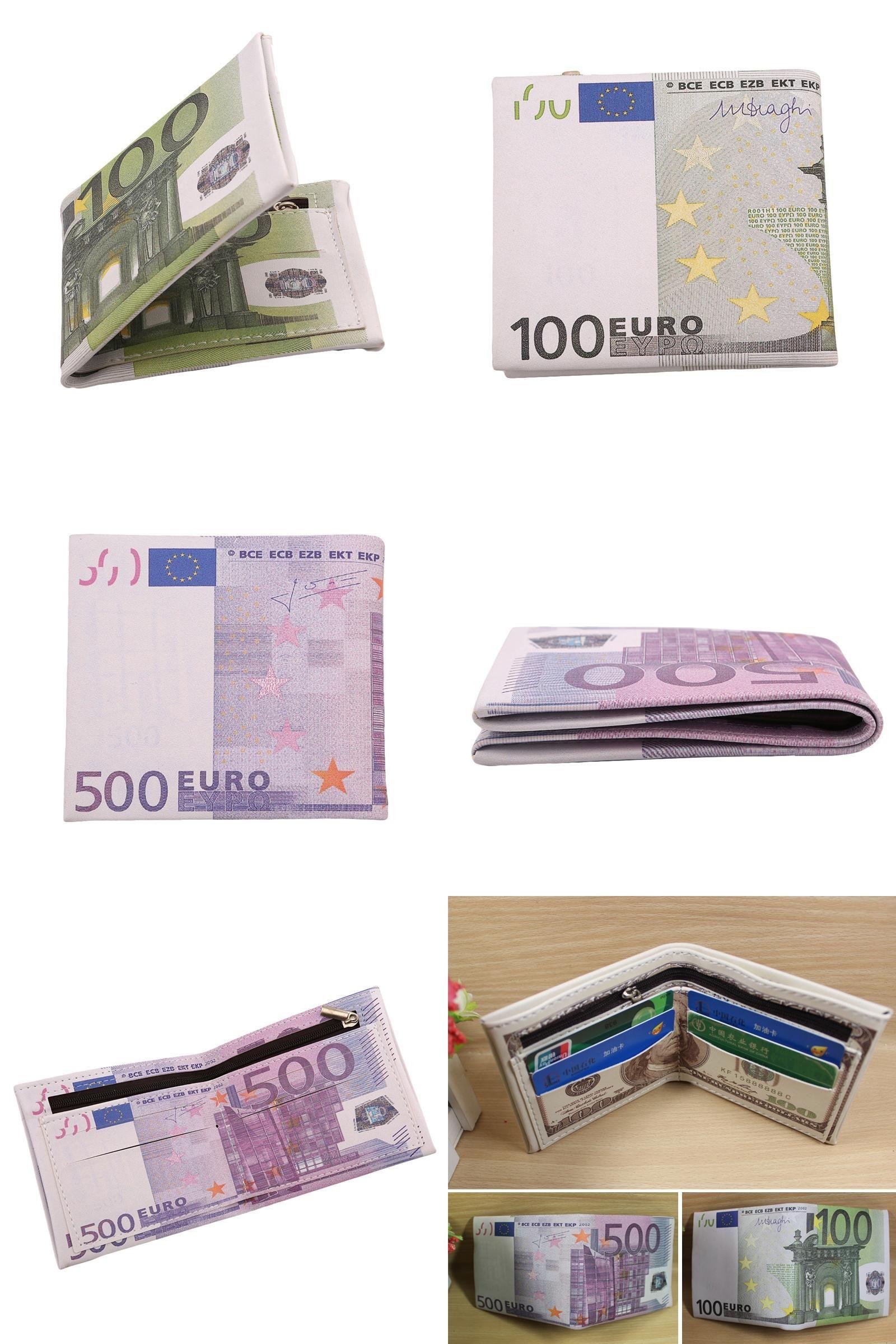 Visit To Buy Custom Made 500 100 Euro Bill Wallet Men Pockets