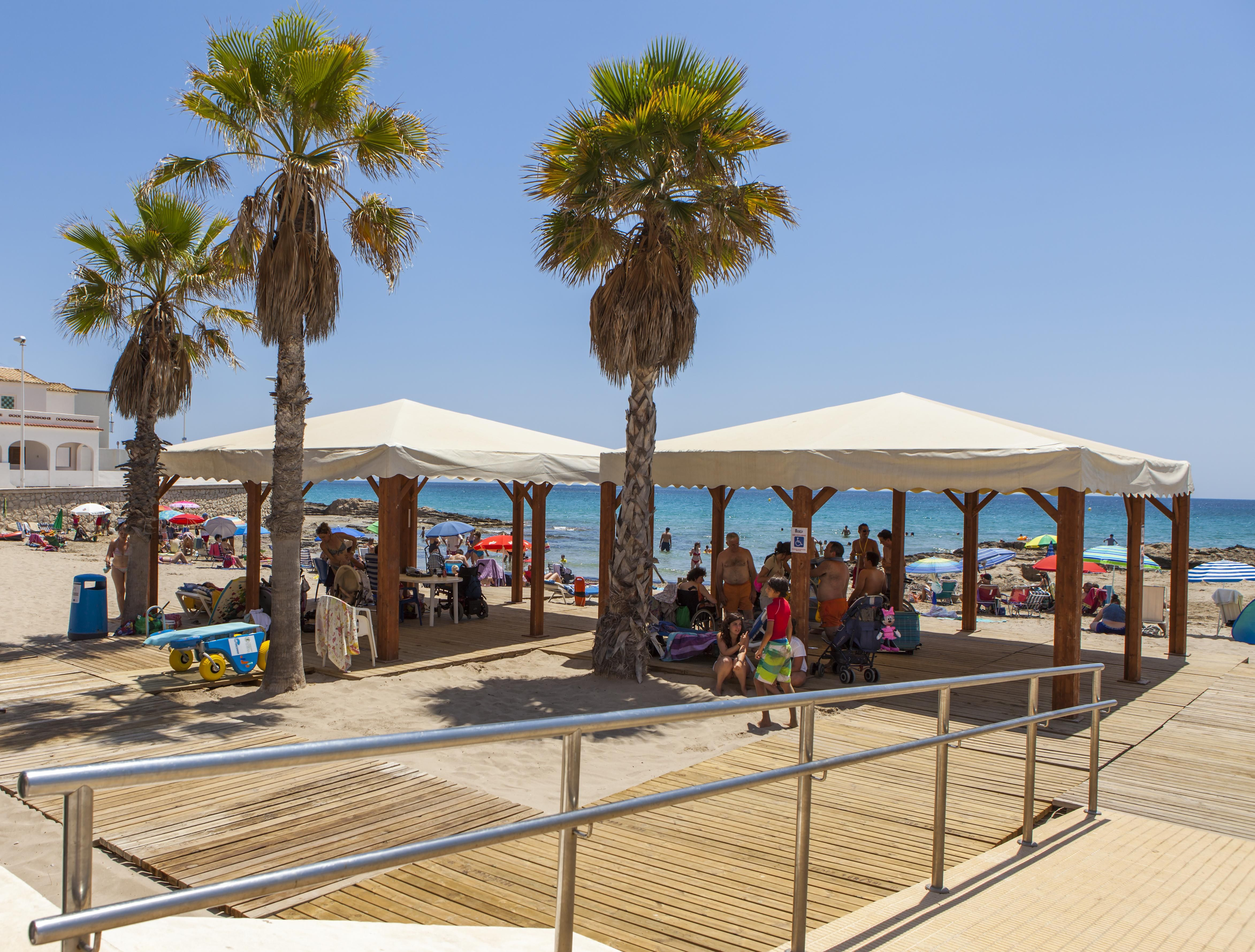 Playa accesible - C/ Italia #Calpe #Calp