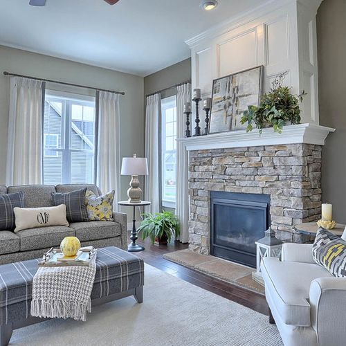 Living Room Design Houzz Entrancing Craftsman Living Design Ideas Remodels & Photos  Houzzsaved Inspiration Design