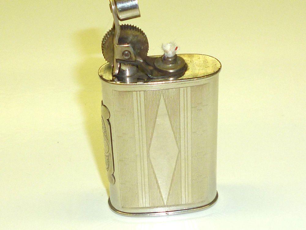 SERON BESANCON POCKET LIGHTER W. FRENCH TAX STAMP 1930