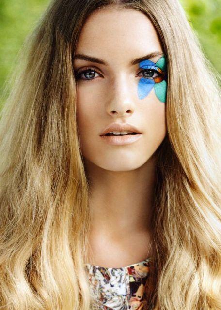 Flower Eye Makeup Disco Makeup Hippie Makeup