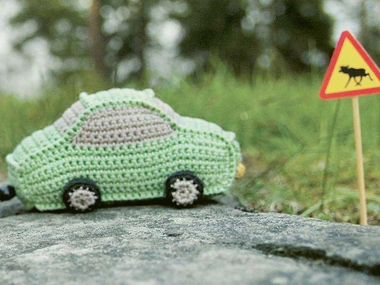 Diy Anleitung Auto Mit Wohnwagen Häkeln Via Dawandacom Nähen