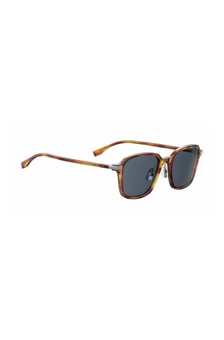 0ef7f00b5d Boss Black Lens Havana Square Sunglasses