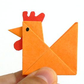 origami huhn coooooole diy 39 s pinterest origami. Black Bedroom Furniture Sets. Home Design Ideas