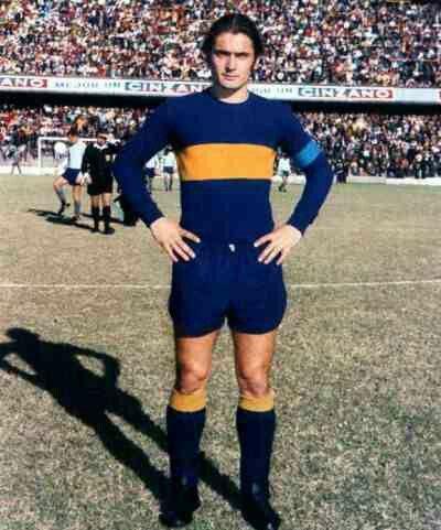 Ernesto Mastrangelo of Boca Juniors in 1969.