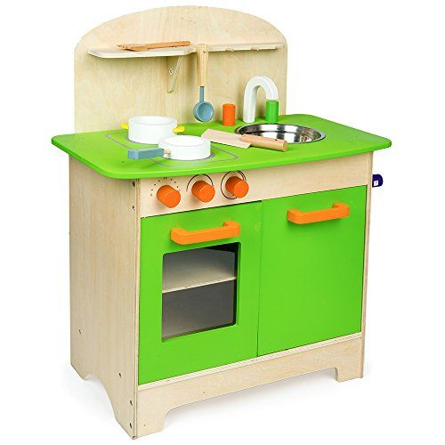 Mamakids Wooden Kitchen Children S Cooking Role Play Set Http Www