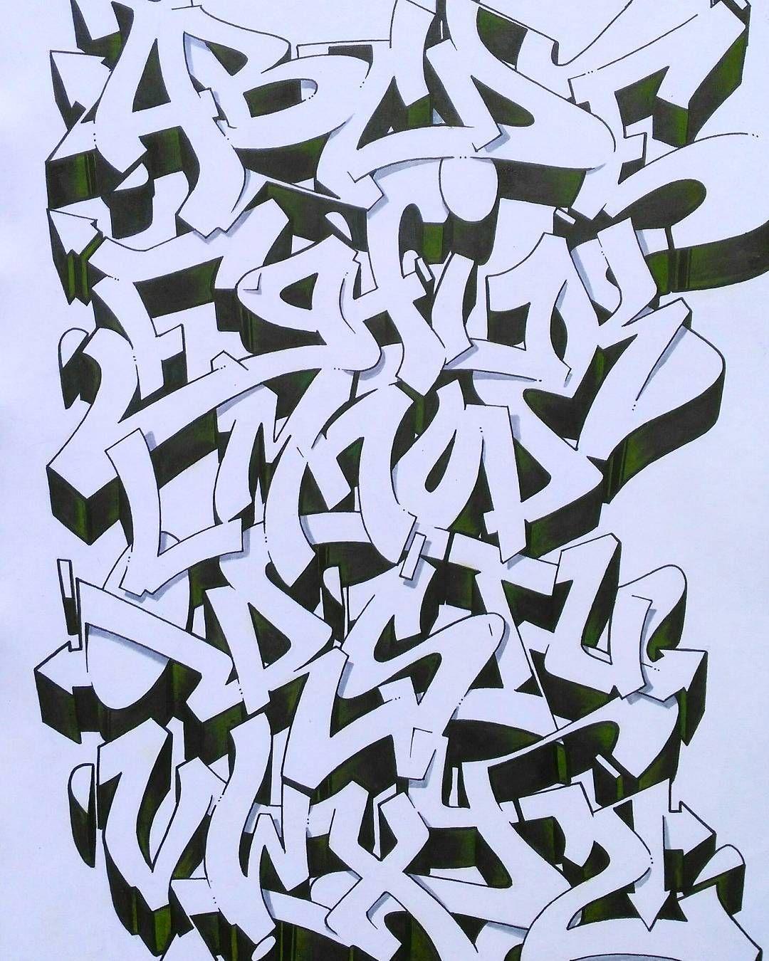 Alphabet Letters Graffiti Graff On Instagram In