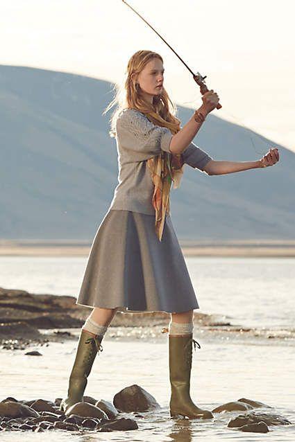Aigle Miss Juliette L boot www.anthropologie.com