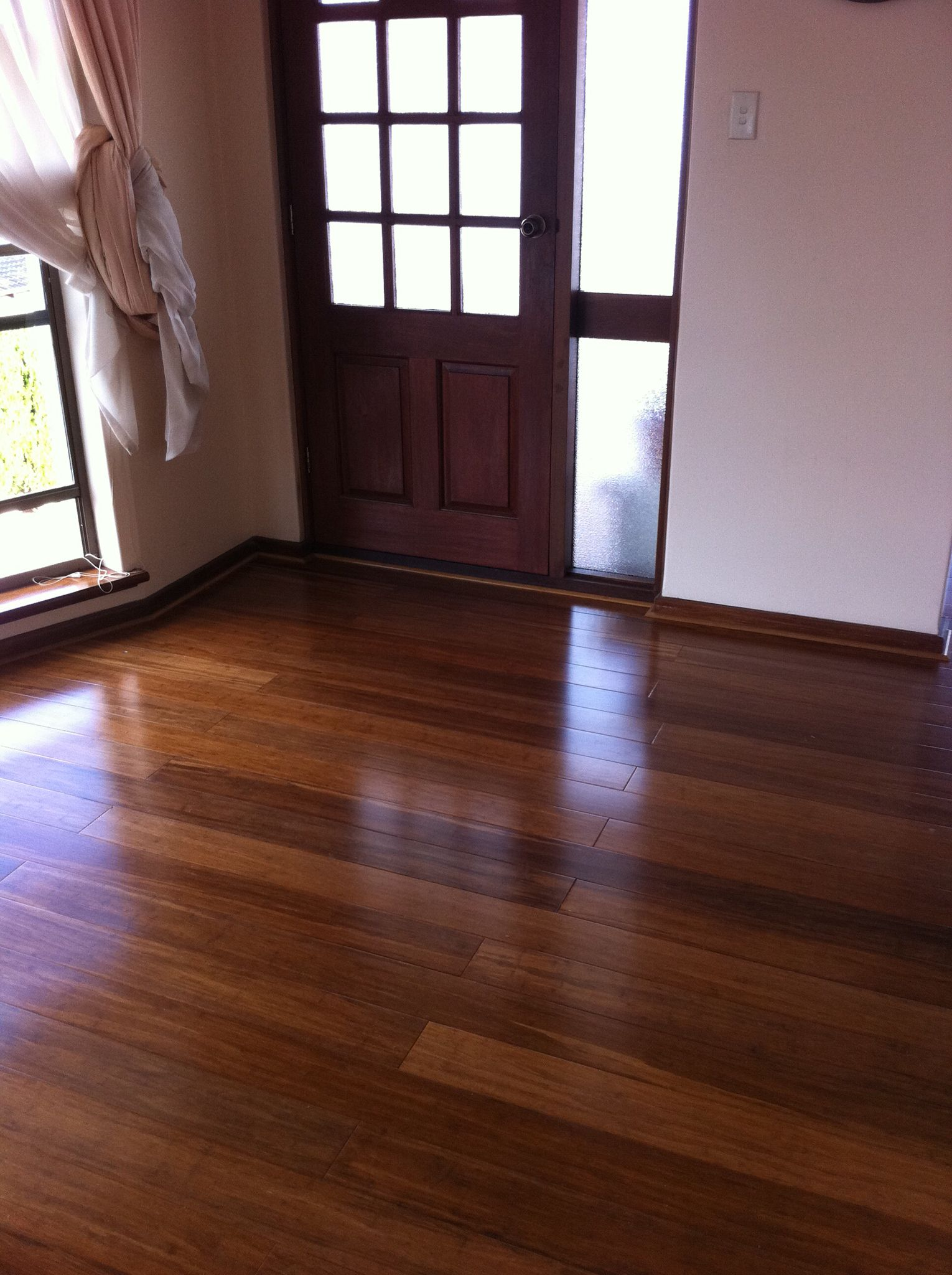 Solid Strand Woven Bamboo Coffee Colour | Bamboo Floors | Pinterest