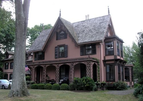 Gothic House Gothic Revival Architecture Gothic House Architecture House