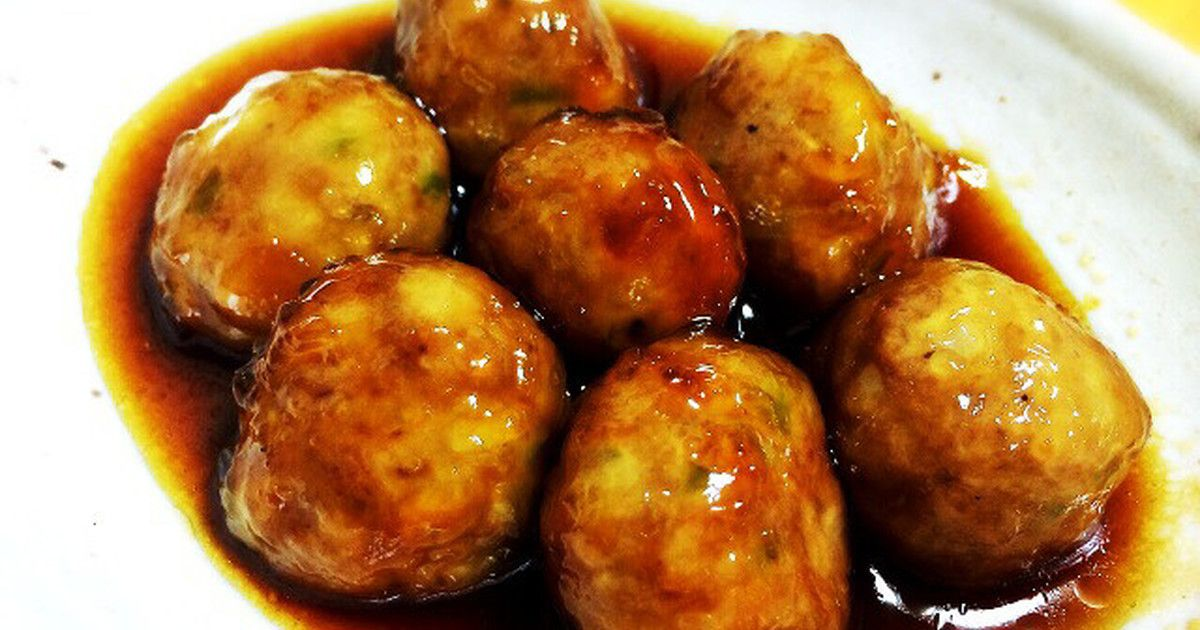 レシピ 団子 冷凍 肉