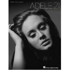 Adele - 21 - Piano/ Vocal/ Guitar Artist Songbook. List Price: $17.99 Sale Price: $14.00 More Detail: http://www.giftsidea.us/item.php?id=b005ehu7fc