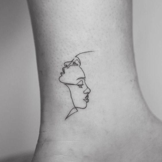 100 Minimalist Tattoo Design Idea