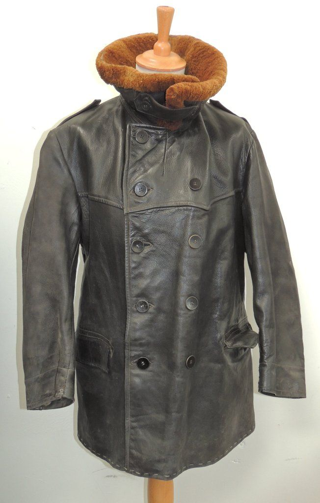 1918 German coat. Kriegsmarine ? | Lederjacke, Jacken