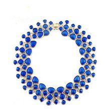 Exaggerated Fashion Statement Necklace Jewelry Colorful Enamel Bubble Bib Choker pendant Necklace Collares Mujer fine jewelry(China (Mainland))