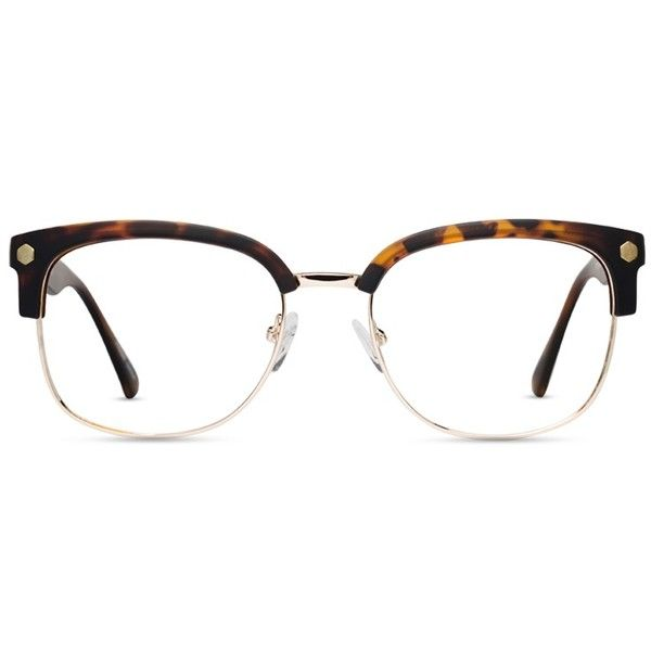 676a2a34f15 GlassesUSA Elliot Tortoise w Gold ( 89) ❤ liked on Polyvore featuring  accessories