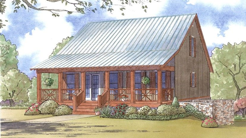 Home Plan HOMEPW77874 - 1661 Square Foot, 3 Bedroom 3 Bathroom + Low Country Home with 0 Garage Bays | Homeplans.com